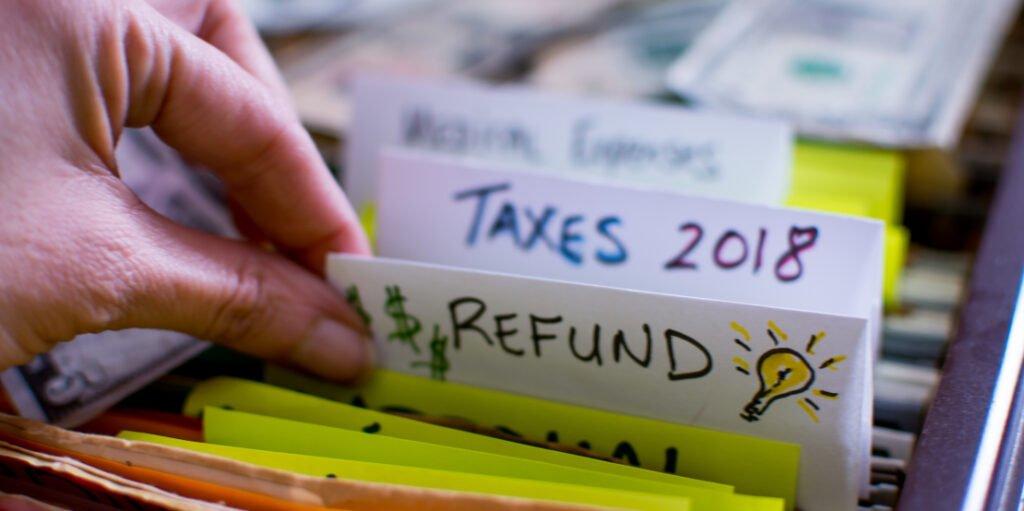 Steuer zurück?