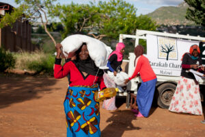 Food distribution in malawi