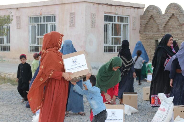 Food Parcel Distribution (Afghanistan)